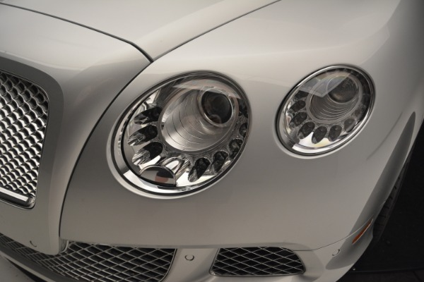 Used 2013 Bentley Continental GT W12 Le Mans Edition for sale Sold at Alfa Romeo of Greenwich in Greenwich CT 06830 18
