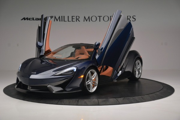 New 2019 McLaren 570S Spider Convertible for sale Sold at Alfa Romeo of Greenwich in Greenwich CT 06830 14