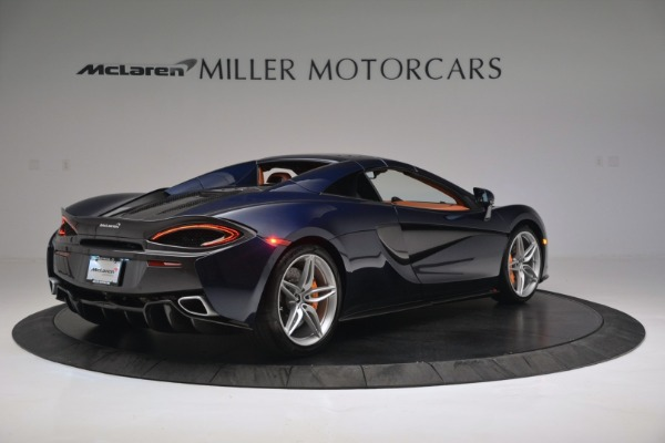 New 2019 McLaren 570S Spider Convertible for sale Sold at Alfa Romeo of Greenwich in Greenwich CT 06830 19