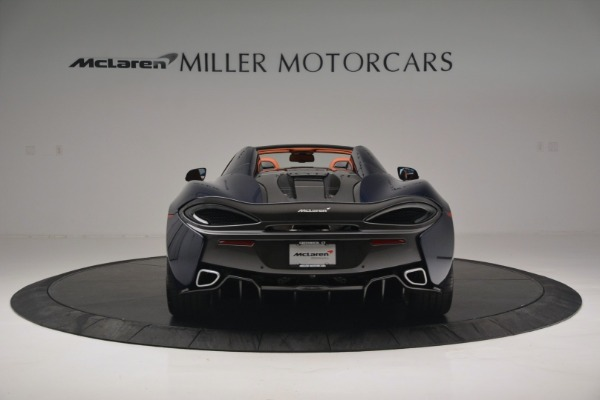 New 2019 McLaren 570S Spider Convertible for sale Sold at Alfa Romeo of Greenwich in Greenwich CT 06830 6