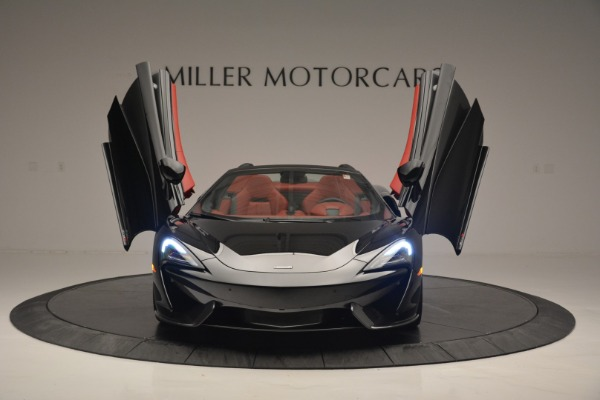 New 2019 McLaren 570S Convertible for sale Sold at Alfa Romeo of Greenwich in Greenwich CT 06830 13