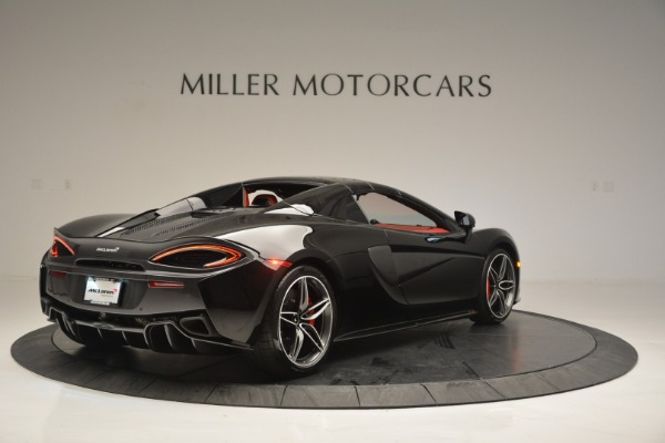 New 2019 McLaren 570S Convertible for sale Sold at Alfa Romeo of Greenwich in Greenwich CT 06830 19