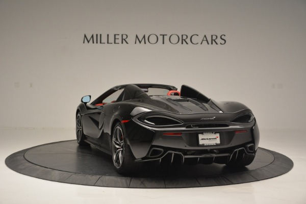 New 2019 McLaren 570S Convertible for sale Sold at Alfa Romeo of Greenwich in Greenwich CT 06830 5