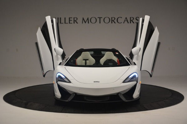 New 2019 McLaren 570S Spider Convertible for sale Sold at Alfa Romeo of Greenwich in Greenwich CT 06830 13