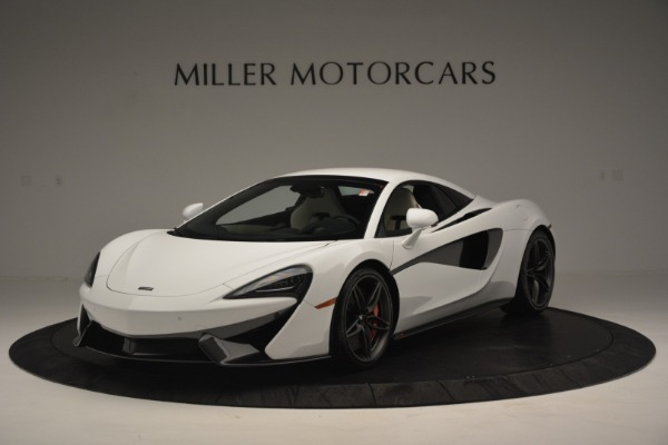 New 2019 McLaren 570S Spider Convertible for sale Sold at Alfa Romeo of Greenwich in Greenwich CT 06830 15