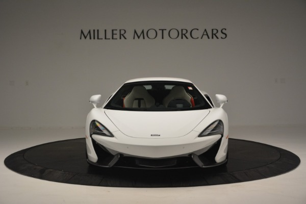 New 2019 McLaren 570S Spider Convertible for sale Sold at Alfa Romeo of Greenwich in Greenwich CT 06830 21