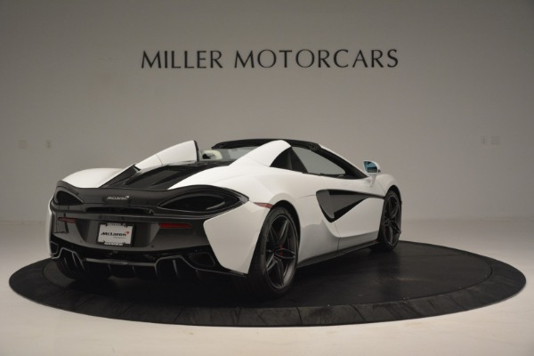 New 2019 McLaren 570S Spider Convertible for sale Sold at Alfa Romeo of Greenwich in Greenwich CT 06830 7