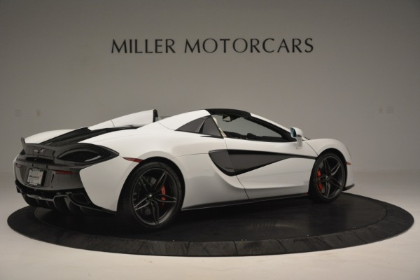 New 2019 McLaren 570S Spider Convertible for sale Sold at Alfa Romeo of Greenwich in Greenwich CT 06830 8