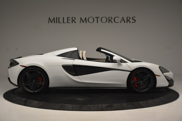 New 2019 McLaren 570S Spider Convertible for sale Sold at Alfa Romeo of Greenwich in Greenwich CT 06830 9