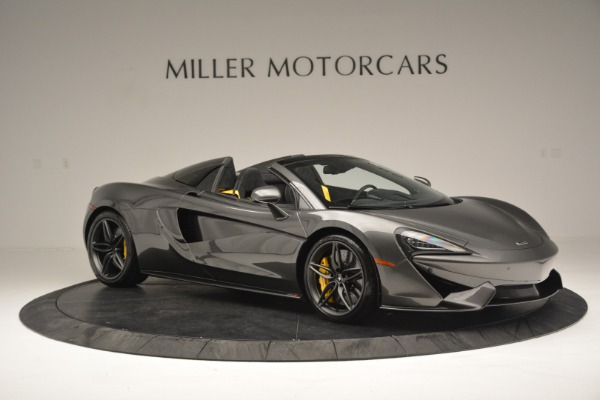 Used 2019 McLaren 570S Spider Convertible for sale Sold at Alfa Romeo of Greenwich in Greenwich CT 06830 10