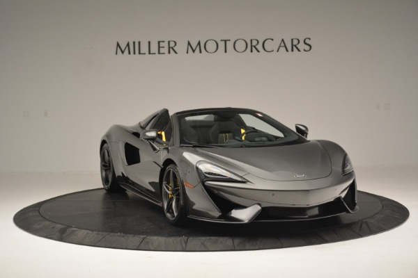 Used 2019 McLaren 570S Spider Convertible for sale Sold at Alfa Romeo of Greenwich in Greenwich CT 06830 11