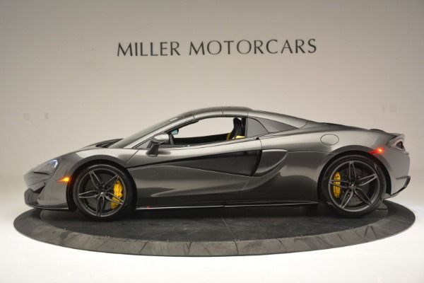 Used 2019 McLaren 570S Spider Convertible for sale Sold at Alfa Romeo of Greenwich in Greenwich CT 06830 16