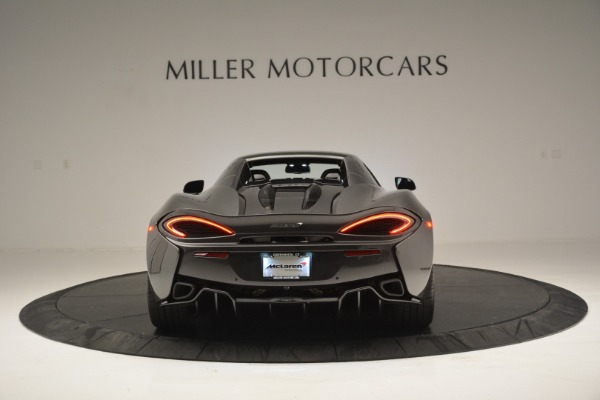 Used 2019 McLaren 570S Spider Convertible for sale Sold at Alfa Romeo of Greenwich in Greenwich CT 06830 18