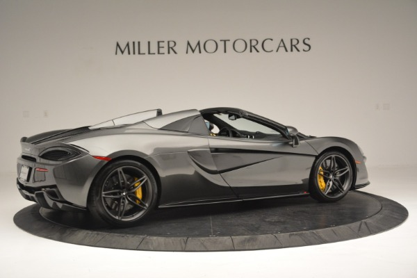 Used 2019 McLaren 570S Spider Convertible for sale Sold at Alfa Romeo of Greenwich in Greenwich CT 06830 8
