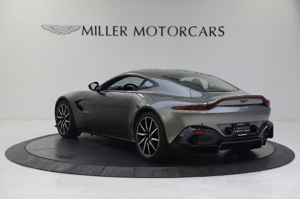 New 2019 Aston Martin Vantage V8 for sale Sold at Alfa Romeo of Greenwich in Greenwich CT 06830 4