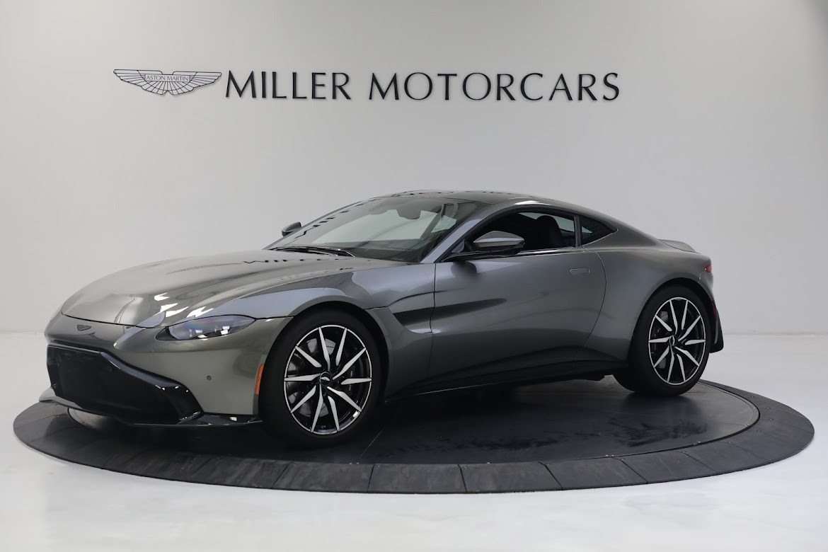 New 2019 Aston Martin Vantage V8 for sale Sold at Alfa Romeo of Greenwich in Greenwich CT 06830 1