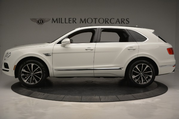 New 2019 Bentley Bentayga V8 for sale Sold at Alfa Romeo of Greenwich in Greenwich CT 06830 3