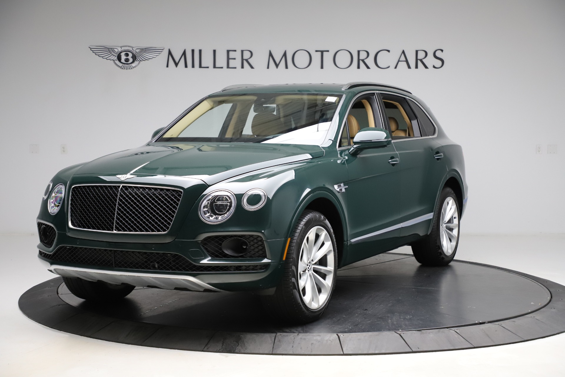 Used 2019 Bentley Bentayga V8 for sale Call for price at Alfa Romeo of Greenwich in Greenwich CT 06830 1
