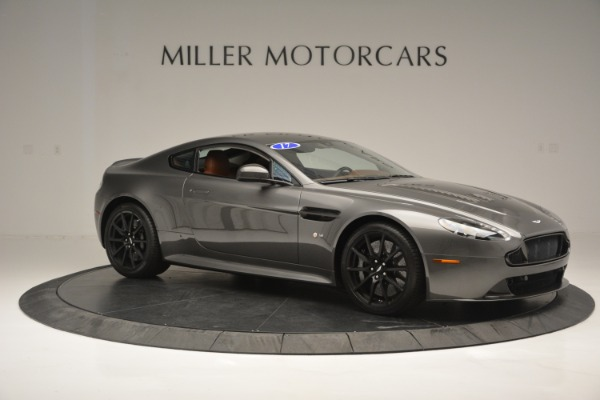 Used 2017 Aston Martin V12 Vantage S for sale Sold at Alfa Romeo of Greenwich in Greenwich CT 06830 10