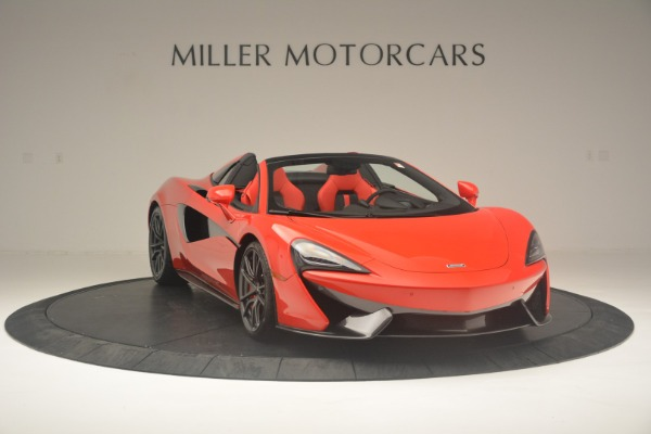 New 2019 McLaren 570S Spider Convertible for sale Sold at Alfa Romeo of Greenwich in Greenwich CT 06830 11