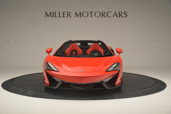 New 2019 McLaren 570S Spider Convertible for sale Sold at Alfa Romeo of Greenwich in Greenwich CT 06830 12