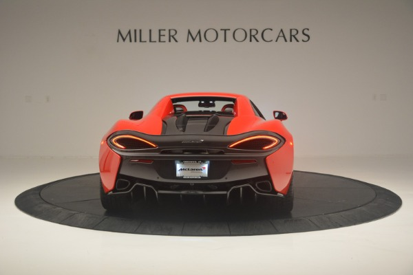 New 2019 McLaren 570S Spider Convertible for sale Sold at Alfa Romeo of Greenwich in Greenwich CT 06830 17