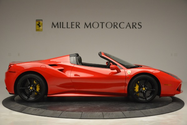 Used 2018 Ferrari 488 Spider for sale Sold at Alfa Romeo of Greenwich in Greenwich CT 06830 9