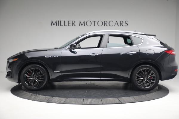 New 2019 Maserati Levante Q4 GranLusso for sale Sold at Alfa Romeo of Greenwich in Greenwich CT 06830 3