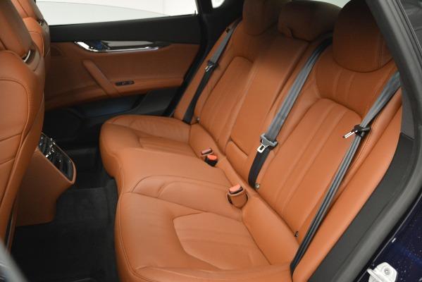 New 2019 Maserati Quattroporte S Q4 GranSport for sale $125,765 at Alfa Romeo of Greenwich in Greenwich CT 06830 18