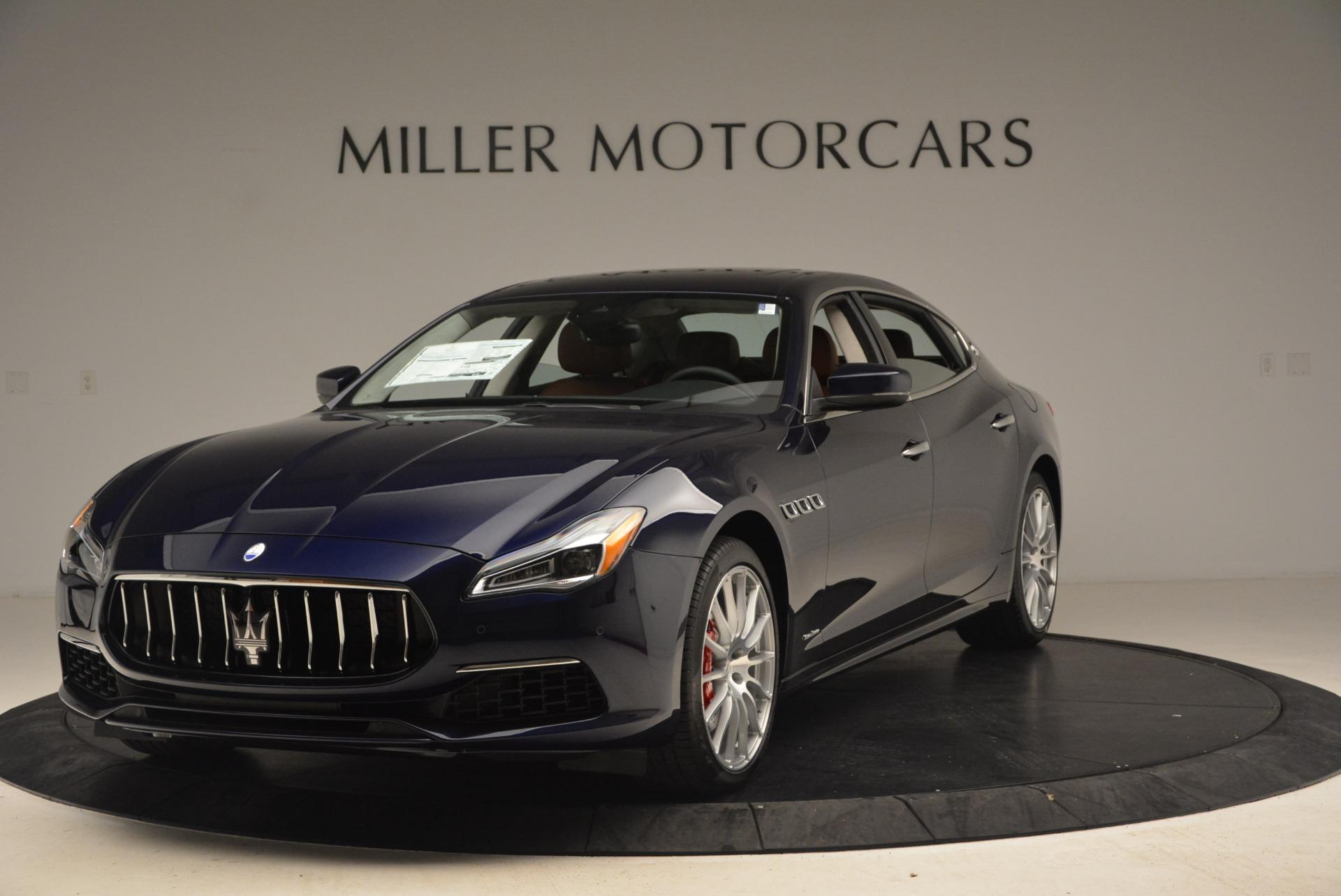 New 2019 Maserati Quattroporte S Q4 GranSport for sale $125,765 at Alfa Romeo of Greenwich in Greenwich CT 06830 1