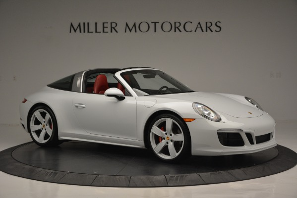 Used 2017 Porsche 911 Targa 4S for sale Sold at Alfa Romeo of Greenwich in Greenwich CT 06830 10