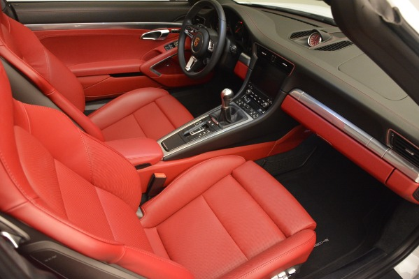 Used 2017 Porsche 911 Targa 4S for sale Sold at Alfa Romeo of Greenwich in Greenwich CT 06830 17