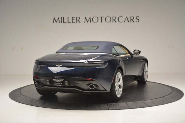 New 2019 Aston Martin DB11 Volante Volante for sale Sold at Alfa Romeo of Greenwich in Greenwich CT 06830 19