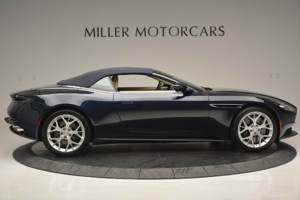 New 2019 Aston Martin DB11 Volante Volante for sale Sold at Alfa Romeo of Greenwich in Greenwich CT 06830 20