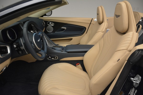 New 2019 Aston Martin DB11 Volante Volante for sale Sold at Alfa Romeo of Greenwich in Greenwich CT 06830 24