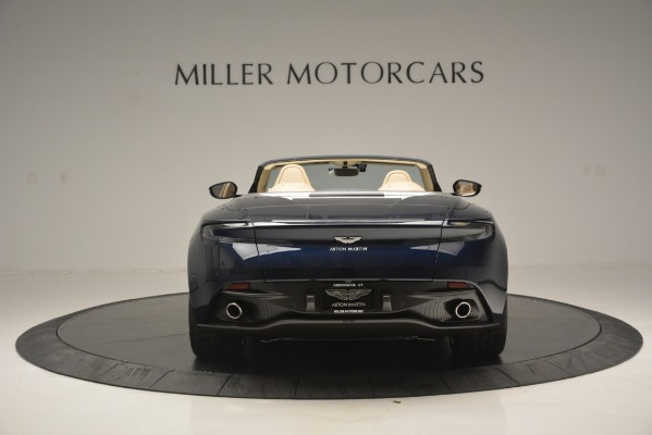 New 2019 Aston Martin DB11 Volante Volante for sale Sold at Alfa Romeo of Greenwich in Greenwich CT 06830 6