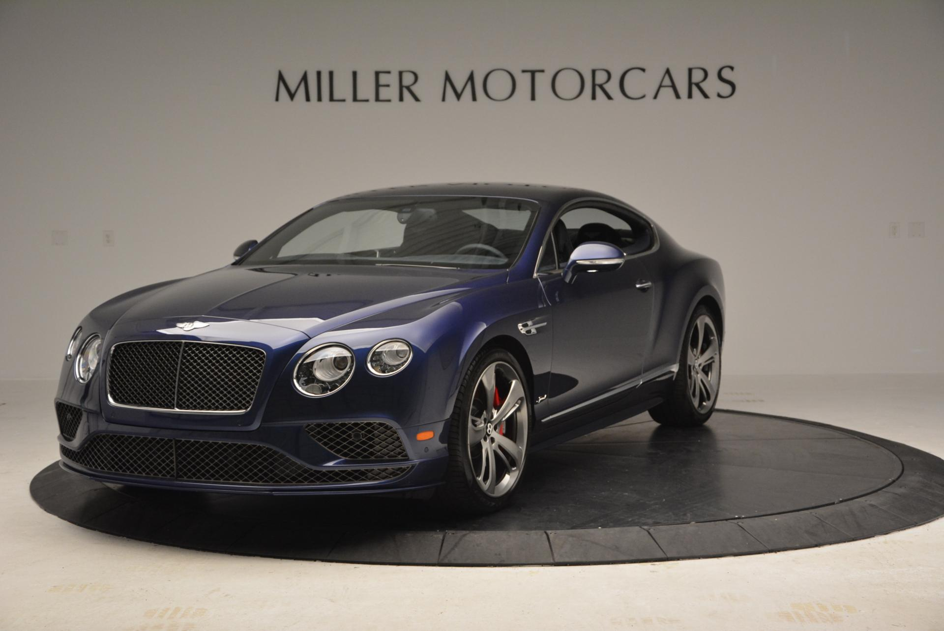 Used 2016 Bentley Continental GT Speed GT Speed for sale Sold at Alfa Romeo of Greenwich in Greenwich CT 06830 1