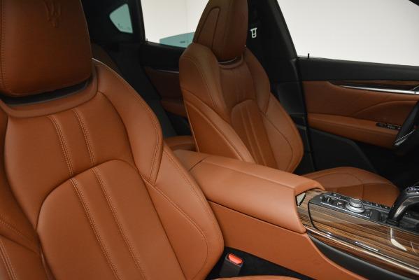 New 2019 Maserati Levante S Q4 GranSport for sale Sold at Alfa Romeo of Greenwich in Greenwich CT 06830 22