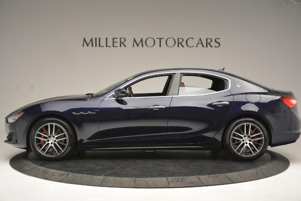 New 2019 Maserati Ghibli S Q4 for sale Sold at Alfa Romeo of Greenwich in Greenwich CT 06830 3