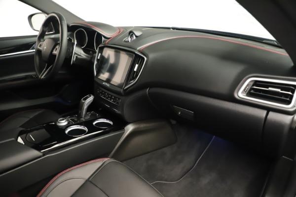 Used 2019 Maserati Ghibli S Q4 GranSport for sale $64,900 at Alfa Romeo of Greenwich in Greenwich CT 06830 22