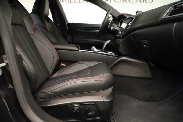 Used 2019 Maserati Ghibli S Q4 GranSport for sale $64,900 at Alfa Romeo of Greenwich in Greenwich CT 06830 23