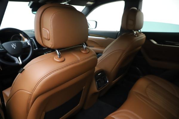 Used 2019 Maserati Levante Q4 GranLusso for sale Sold at Alfa Romeo of Greenwich in Greenwich CT 06830 20