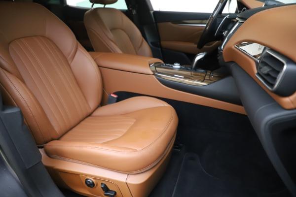 Used 2019 Maserati Levante Q4 GranLusso for sale Sold at Alfa Romeo of Greenwich in Greenwich CT 06830 24