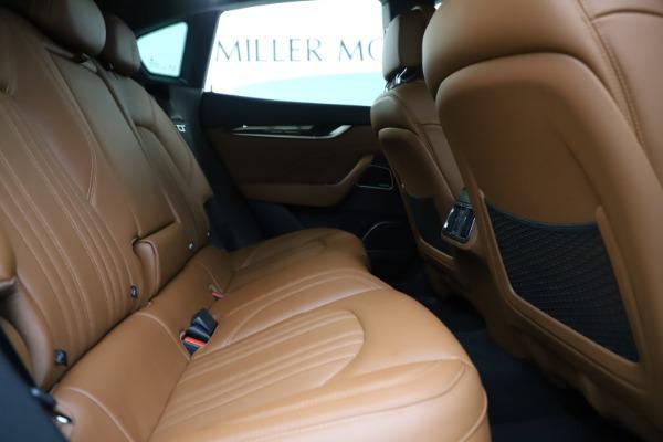 Used 2019 Maserati Levante Q4 GranLusso for sale Sold at Alfa Romeo of Greenwich in Greenwich CT 06830 27