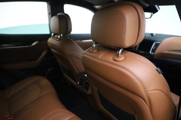 Used 2019 Maserati Levante Q4 GranLusso for sale Sold at Alfa Romeo of Greenwich in Greenwich CT 06830 28