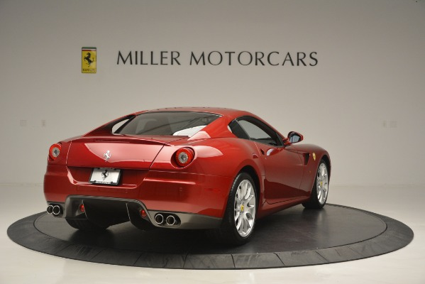 Used 2009 Ferrari 599 GTB Fiorano for sale Sold at Alfa Romeo of Greenwich in Greenwich CT 06830 7