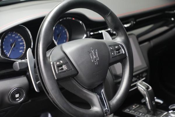 Used 2019 Maserati Quattroporte S Q4 GranLusso for sale $69,900 at Alfa Romeo of Greenwich in Greenwich CT 06830 17