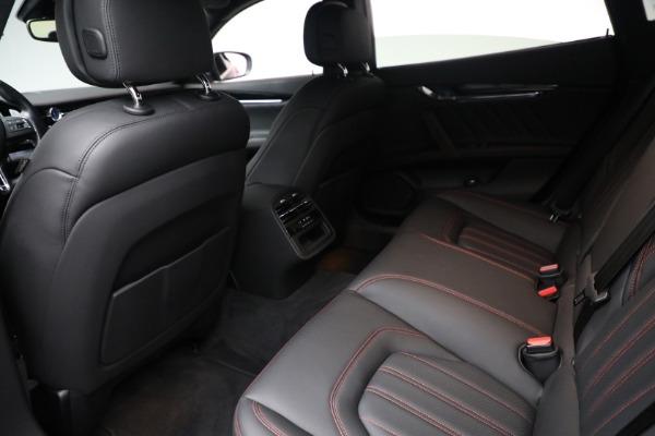 Used 2019 Maserati Quattroporte S Q4 GranLusso for sale $69,900 at Alfa Romeo of Greenwich in Greenwich CT 06830 22