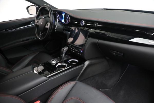 Used 2019 Maserati Quattroporte S Q4 GranLusso for sale $69,900 at Alfa Romeo of Greenwich in Greenwich CT 06830 26