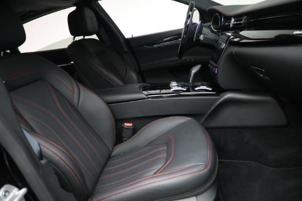 Used 2019 Maserati Quattroporte S Q4 GranLusso for sale $69,900 at Alfa Romeo of Greenwich in Greenwich CT 06830 27